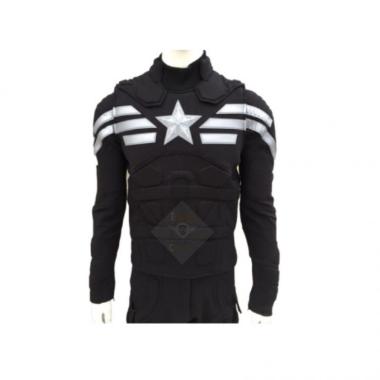 Captain America Stealth Strike Black Version Suit