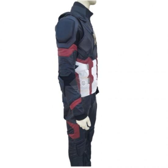 Captain America Civil War Screen Printed Suit