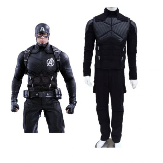 Captain America Black Concept Suit