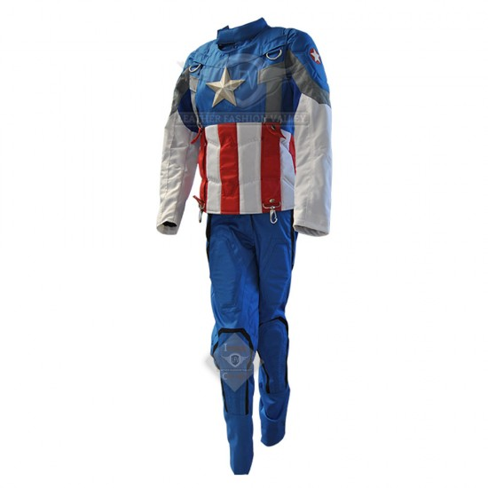 Captain America Winter soldier Golden age full Costume ( smithsonian )