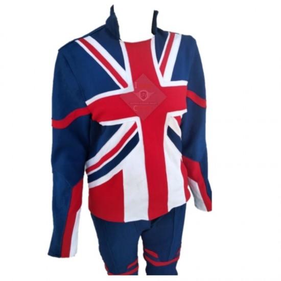 Captain Britain Female Suit