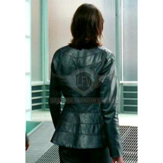 I Robot Will Smith Black Leather Jacket