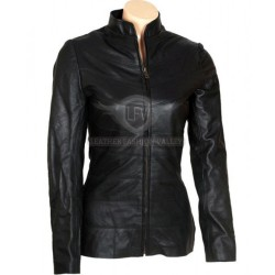 I Robot Will Smith Black Leather Jacket