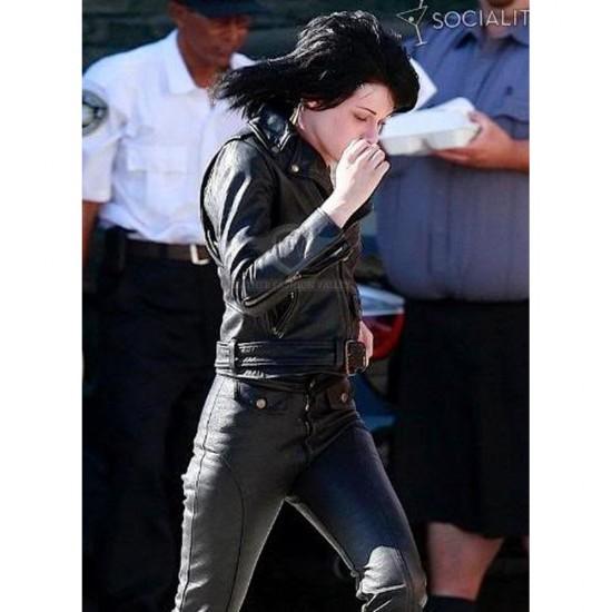 Kristen Stewart 'Runaways' Joan Jett Jacket