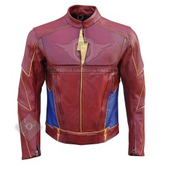 Flash Jay Garrick Leather Jacket
