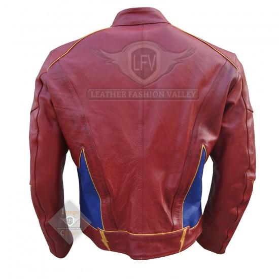 Flash Jay Garrick Leather Jacket