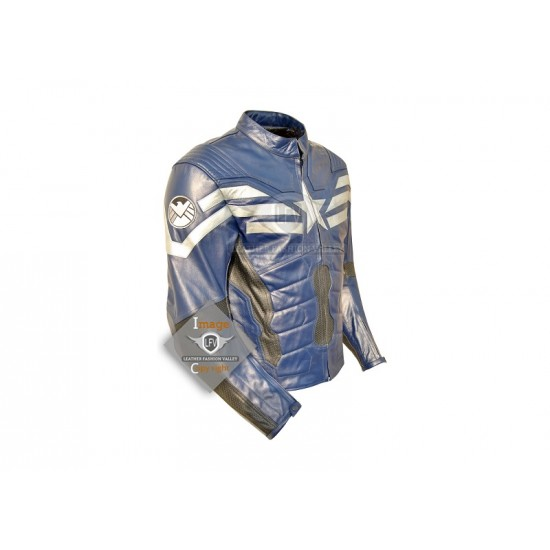 The Winter Soldier Captain America motorcycle Jacket