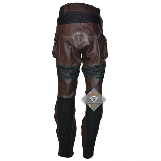 Captain America The Winter Soldier Stealth Strike Leather Full Costume (Dark Brown)
