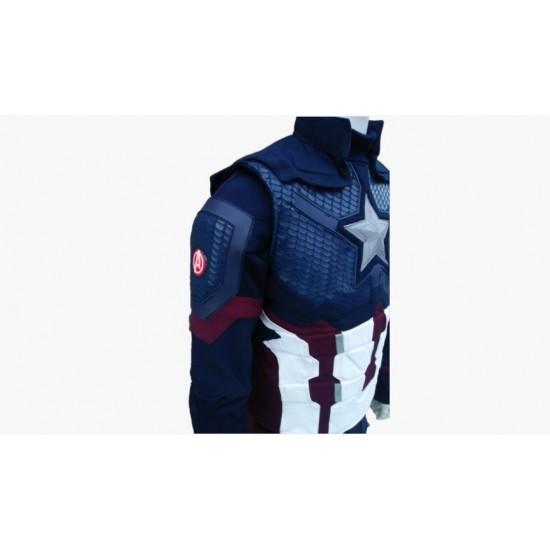 Captain America Avengers Endgame Full Suit (Updated shoulders bells, star burst & extra tabs)