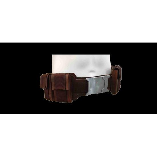 Captain America Leather Belt - Premuim Version (Design and Quality Upgraded)