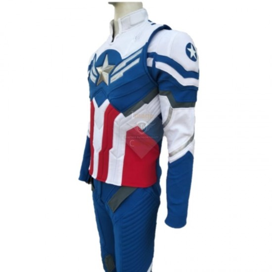 Captain America Sam Wilson Suit - From the movie, Falcon and the Winter Soldier
