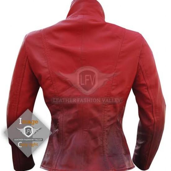 Avengers Infinity War Scarlet Witch Black  Jacket