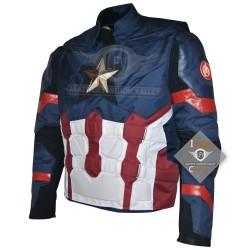 Captain America Civil War Steve Rogers Cosplay Costume Cordura Jacket