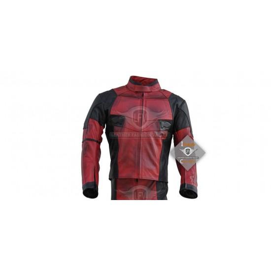 Deadpool 2 Costume Leather Jacket