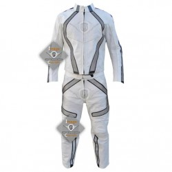 Daft Punk Costume Tron legacy Leather Outfit Full Suit