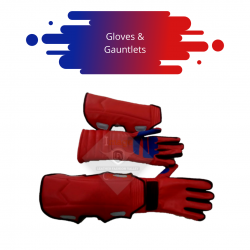 Captain America The Avengers Gloves and Gauntlets
