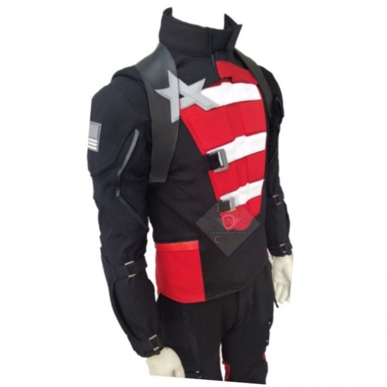 Falcon and the Winter Soldier US Agent Black Suit