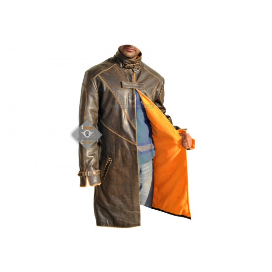 Watch Dog Distressed Leather Costume