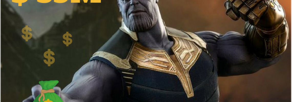 Thanos' Punch : Hits Overseas Box Office with a massive $39 M