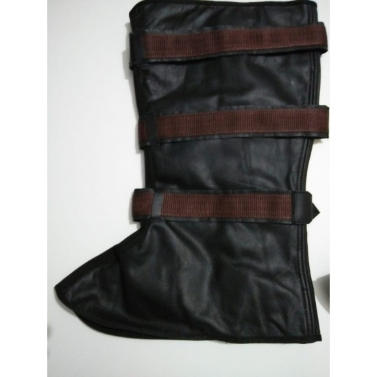 Captain America Leather Boot Covers