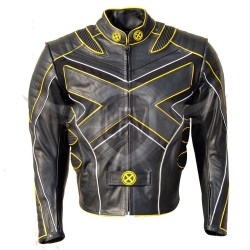 X-Men X3 Wolverine Last Stand Motorcycle Leather Jacket