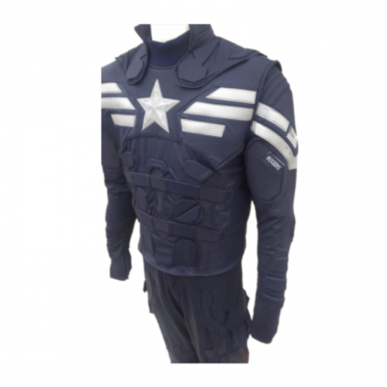 Captain America Stealth Strike  - Screen Printed Full Suit